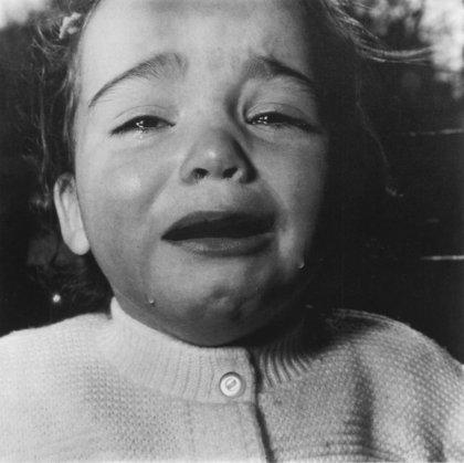 Portrait - Diane Arbus - Enfant en pleurs - FrenchGallery