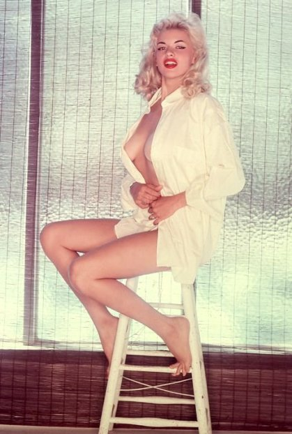 Portrait - Jayne Mansfield - FrenchGallery